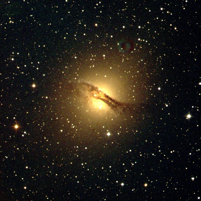 Centaurus A imaged and processed by SJS member Surfer9