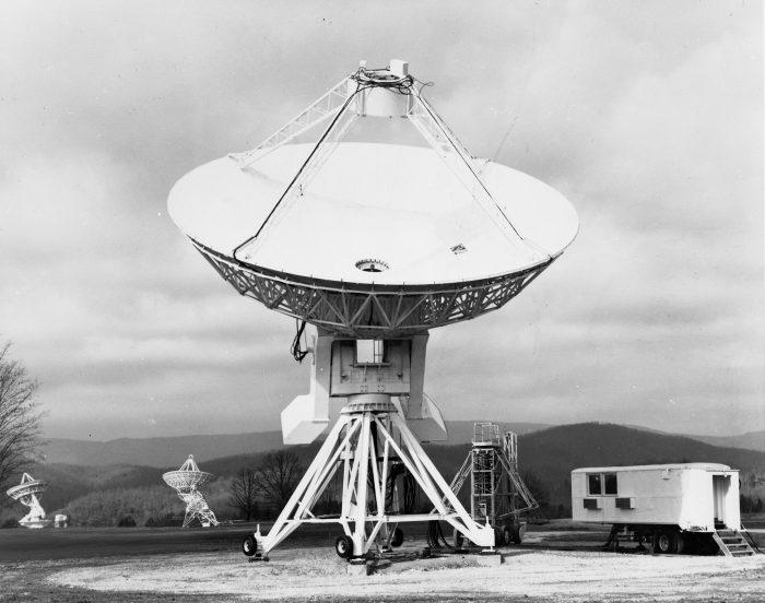 45 foot telescope, historical image