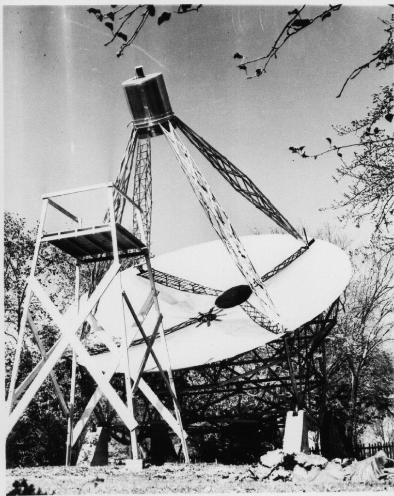 reber telescope in Wheaton, Illinois